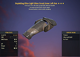 Unyielding [Sneak AP] Scout Left Arm #5